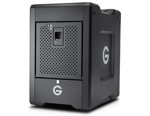 WD G-Technology G-SPEED Shuttle Thunderbolt 3 - 16TB - w/ev Series Bay Black - 0G10136