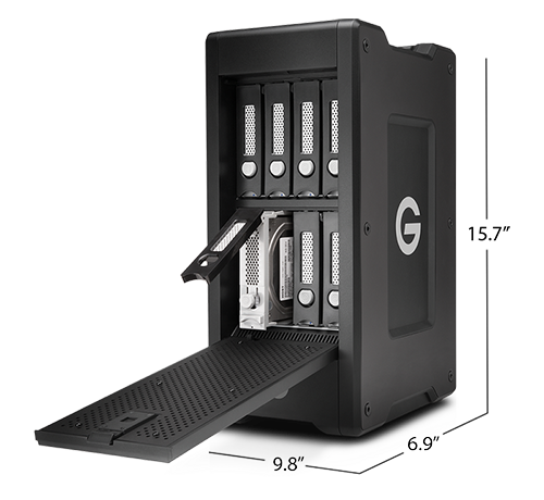 G-SPEED Shuttle XL with Thunderbolt 2 Specifications