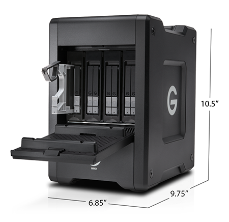 G-SPEED Shuttle with Thunderbolt 3 Specifications