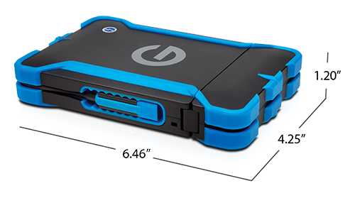 G-DRIVE ev ATC with Thunderbolt Specifications