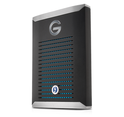 WD G-Technology G-DRIVE mobile Pro SSD Thunderbolt 3 - 500GB - 0G10310