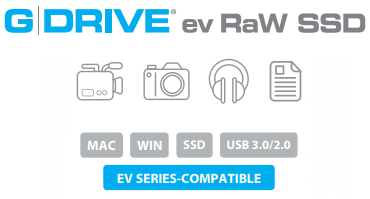G-DRIVE ev RaW SSD Description