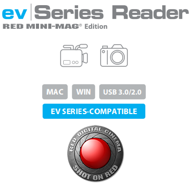 ev Series Reader RED MINI-MAG Edition Description